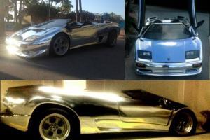Lamborghini Diablo Exotic Replica Supercar, Mirror Chrome. NO RESERVE!!!