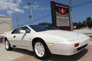 88 PEARL WHITE TURBOCHARGED 2.2L I4 COUPE -REAR SPOILER -LOW MILES-14K -FLORIDA
