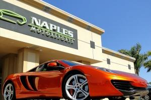 2012 McLaren MP4-12C Volcanic Orange, Carbon Interior Package, Iris Upgrade