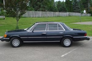 1979 Mercedes Benz 300SD, RARE W116 Turbo Diesel, 78K miles! Sunroof!
