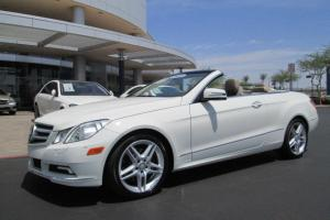 11 WHITE 3.5L V6 LEATHER NAVIGATION MILES:27K CABRIOLET CONVERTIBLE CERTIFIED