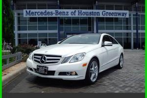 2011 E350 Used Certified 3.5L V6 24V Automatic Rear Wheel Drive Coupe Premium