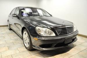 2003 MERCEDES-BENZ S55 LOW MILES CLEAN CARFAX PERFECT