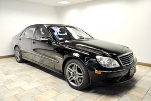 2004 MERCEDES-BENZ S55 AMG CLEAN CARFAX LOTS OF OPTIONS PERFECT CAR!