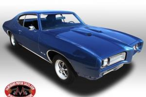 1969 Pontiac GTO 400 4 Speed Restored Numbers Matching