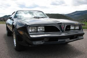 1978 Pontiac Trans Am WS6 W72 4 Speed Original code 19 Black