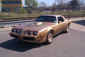 1979 Pointiac Trans Am, - gold, no rust, rebuilt 403 engine, original wheels