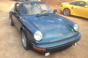1978 Porsche 911 SC Roller NO ENGINE otherwise complete