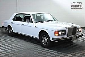 1982 ROLLS ROYCE SILVER SPUR! TIME CAPSULE! ALL SERVICES! SHOW READY! LOW MILES! Photo