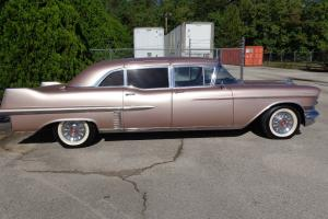 1957 Cadillac Limo, Absolutely Fabulous Interior, Fancier than a Rolls Royce