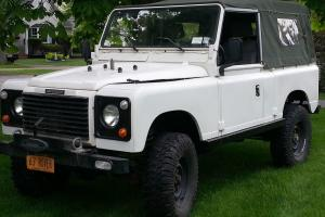 1963 Land Rover 2A Defender Hybrid Softtop -LHD, V8, Auto, Coil Chassis, PS/PB