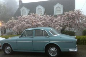 Light Blue 1966 Volvo 122 S