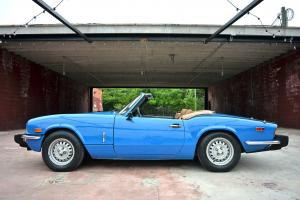 1978 Triumph Spitfire 1500 Classic British Convertible Roadster in Pageant Blue