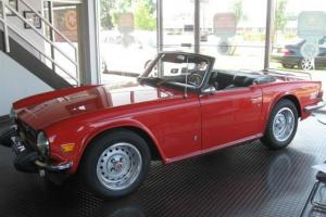 1975 Triumph TR6 Roadster!!!  Florida Transplant!!!  This is The one!!! Photo