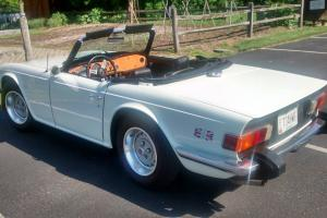 Triumph TR6 Convertible 1976 2.5ltr 67,150 Miles, Same owner 30 years Very Clean