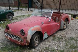 1960 Triumph TR3, CLEAR TITLE, GLOBAL DELIVERY, NICE CAR FOR RESTORATION, RARE