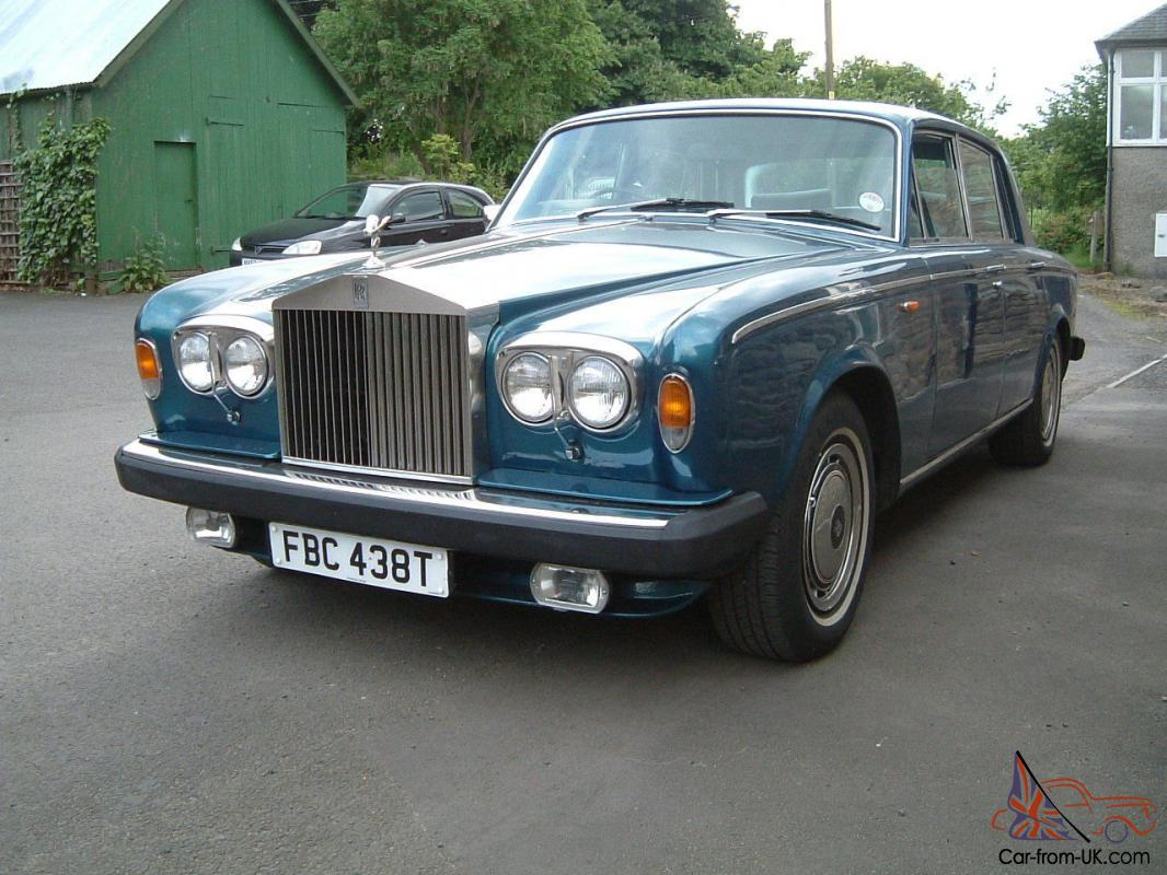 Rolls Royce Silver Shadow Peacock Blue