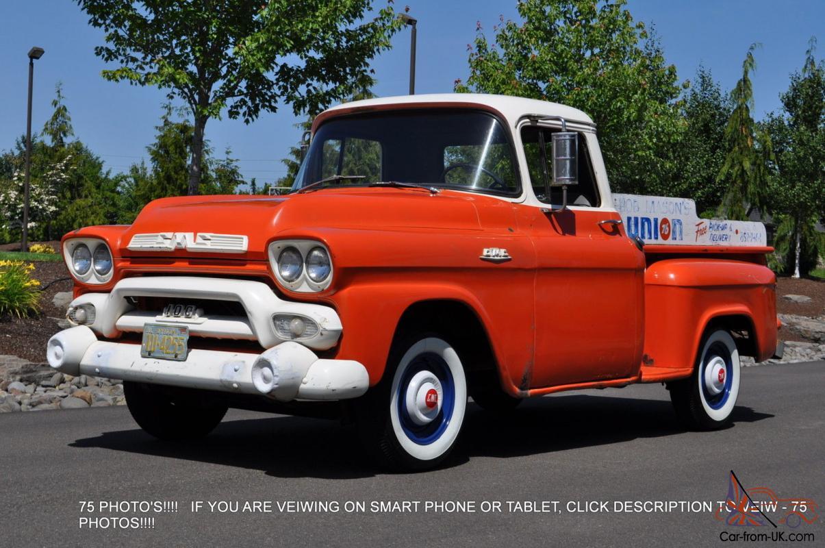 1958 GMC 100 Union 76 Gas Station Truck SURVIVOR Chevy GM ...