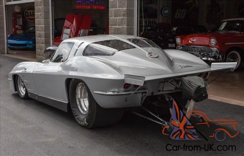 63 Chev Corvette Split Window Race Car