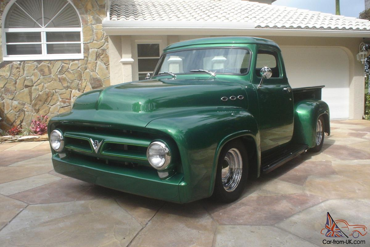 F100 Value 1955 Ford Custom 1953 50thanniversary