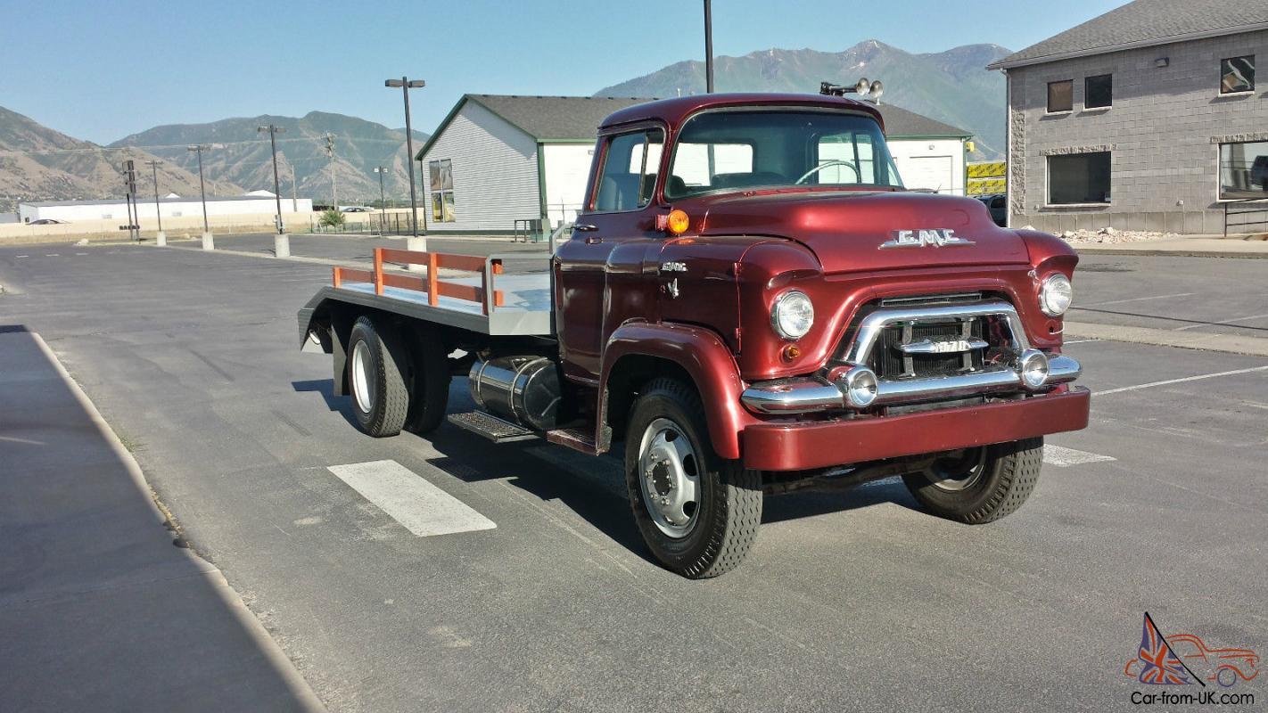 1958 Gmc Truck W 6 1 370 Heavy Duty