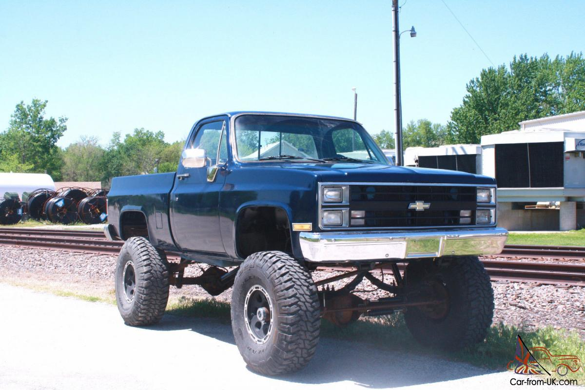 All Chevy 74 chevy short bed : chevy short bed 1 ton 4x4 lifted lift GMC monster truck mud rock ...