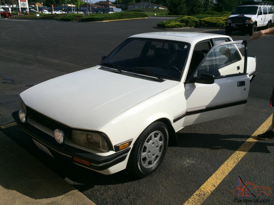 1987 Peugeot 505 Stx Sedan 4 Door 2 8l