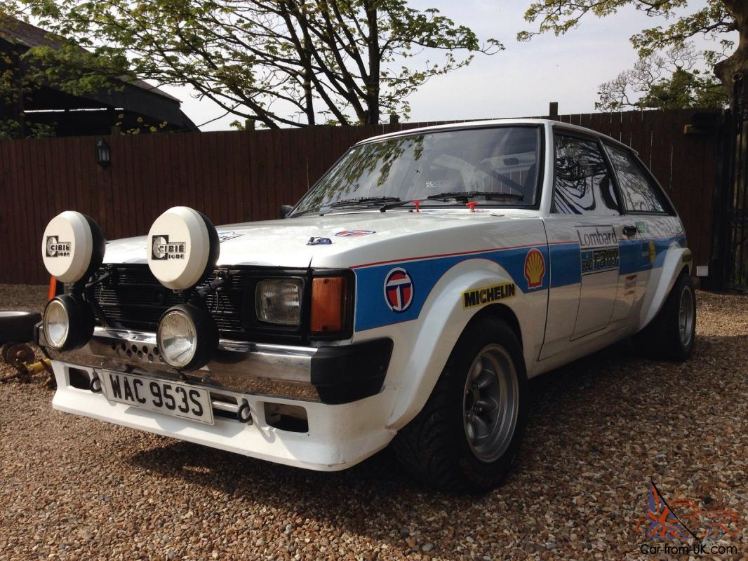 1977 Chrysler Sunbeam S Blue Rally Car Fia