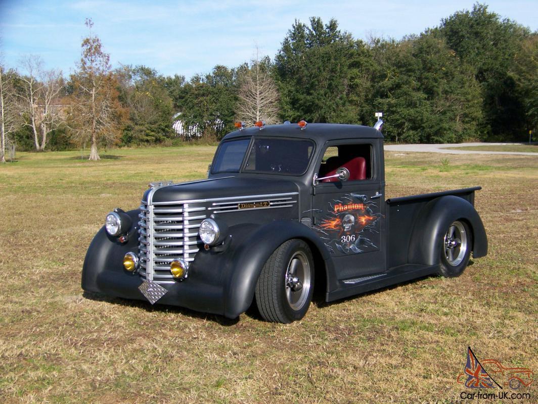 Rare 1948 Diamond T Truck Hot Rod Custom