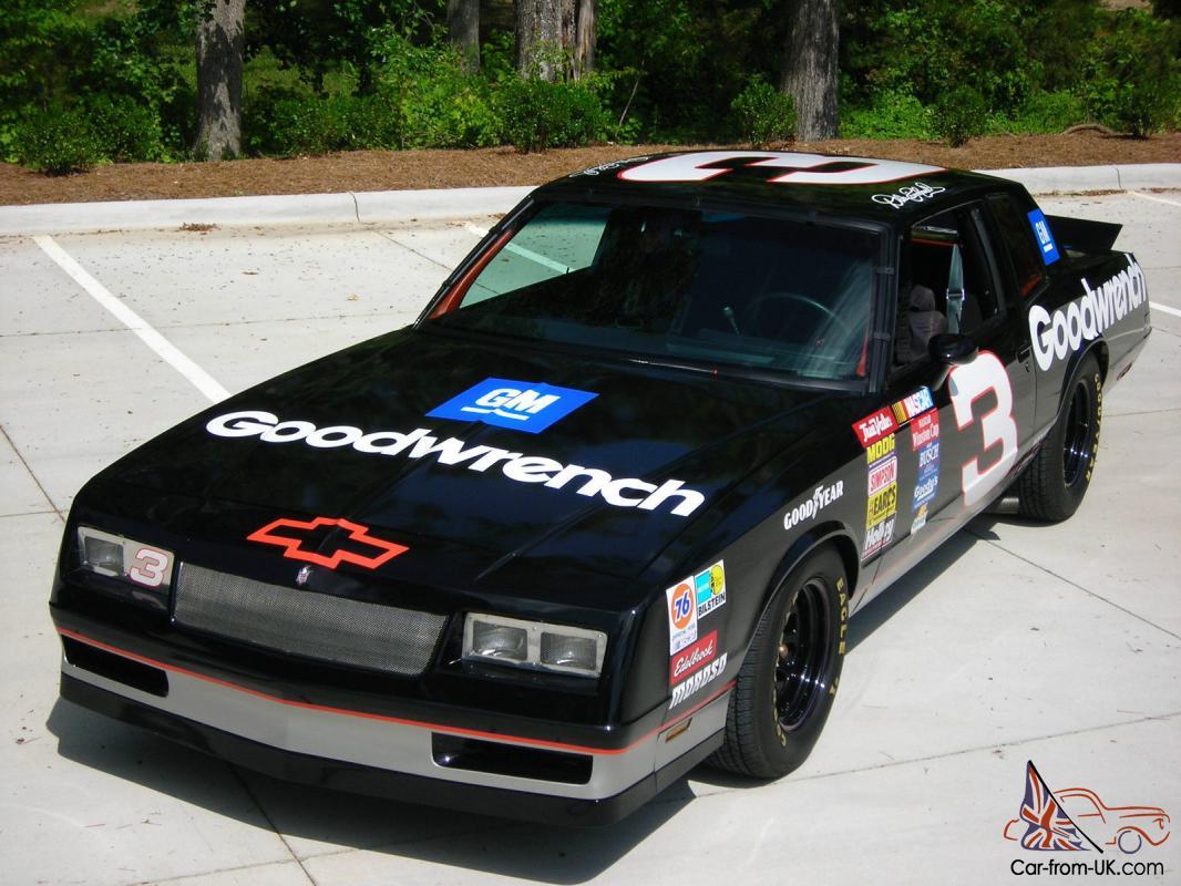 1985 Chevrolet Monte Carlo Dale Earnhardt #3 RCR Tribute Nascar Chevy 85