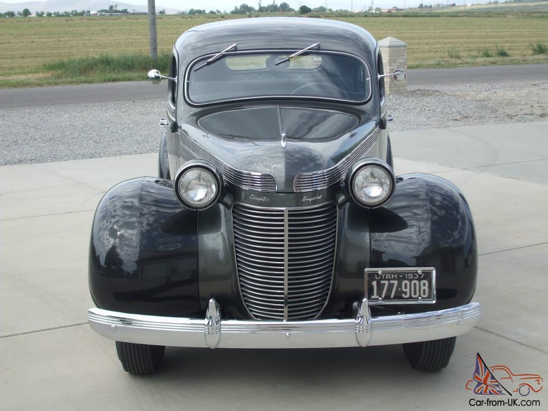 Chrysler 1937 Imperial  |1937 Chrysler Imperial