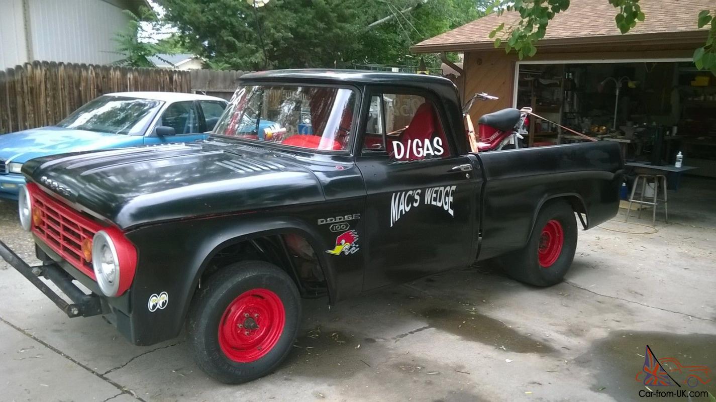 1966 Dodge D100 Gasser Pickup