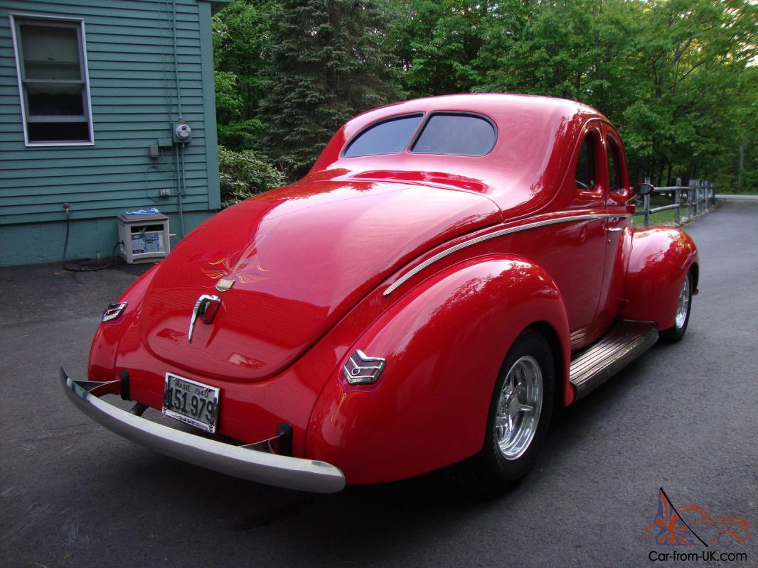 All Steel Real Deal 1940 Ford Coupe Street Rod Loaded No