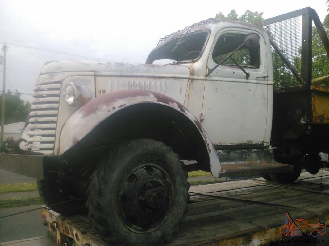 1940 GMC Factory 4x4 Dump Truck