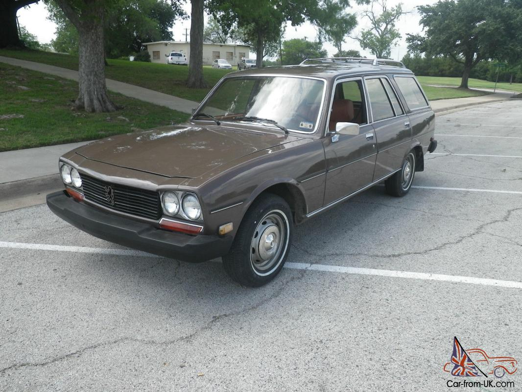 1982 Peugeot 504 Diesel Wagon 4 Speed Manual Serviced Ready To Drive