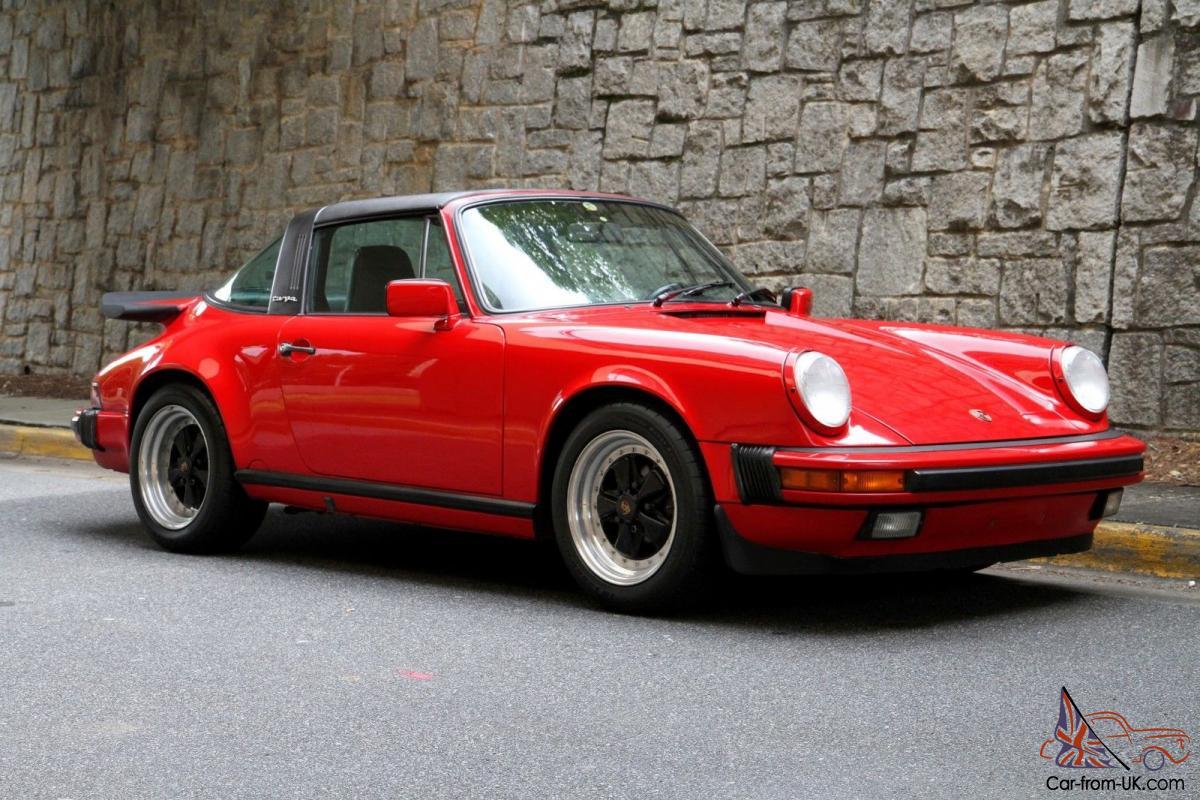 1987 porsche 911 targa review