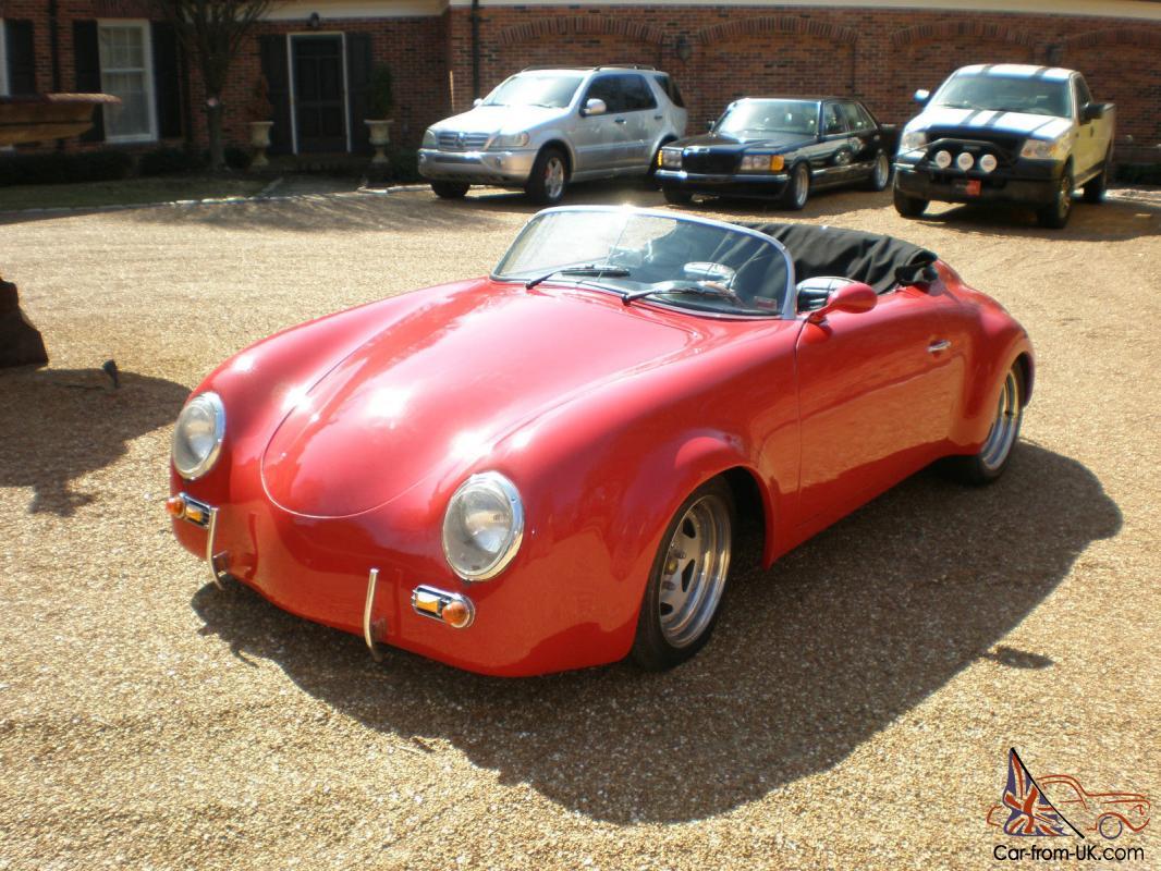 Porsche 356 Wide Body Speedster Replica