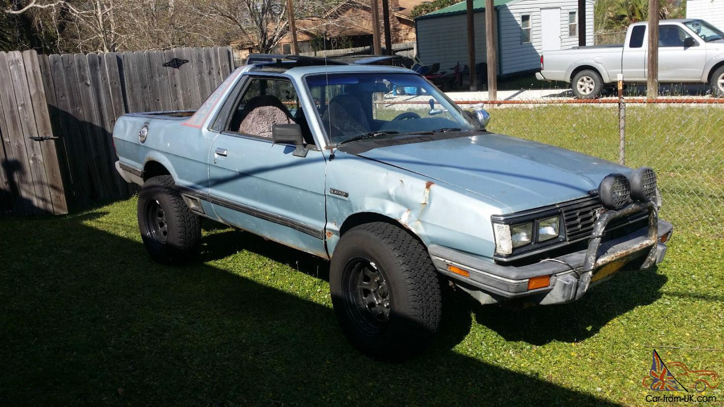 1985 Subaru Brat For Sale