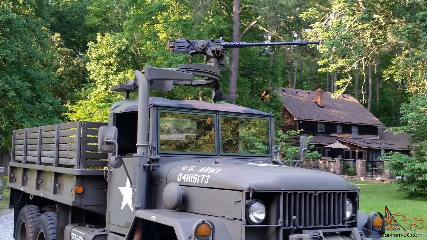 1967 M35A2 Military Army Truck Deuce and a Half 6x6 Winch Gun Ring Kaiser