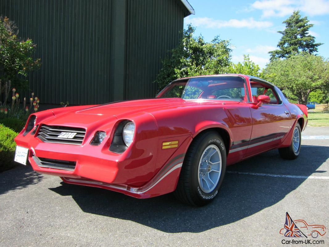1981 Camaro Z28 4spd 350 T Tops