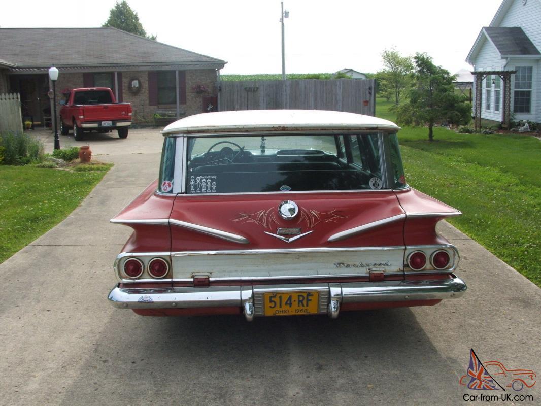 Chevy Parwood Wagon