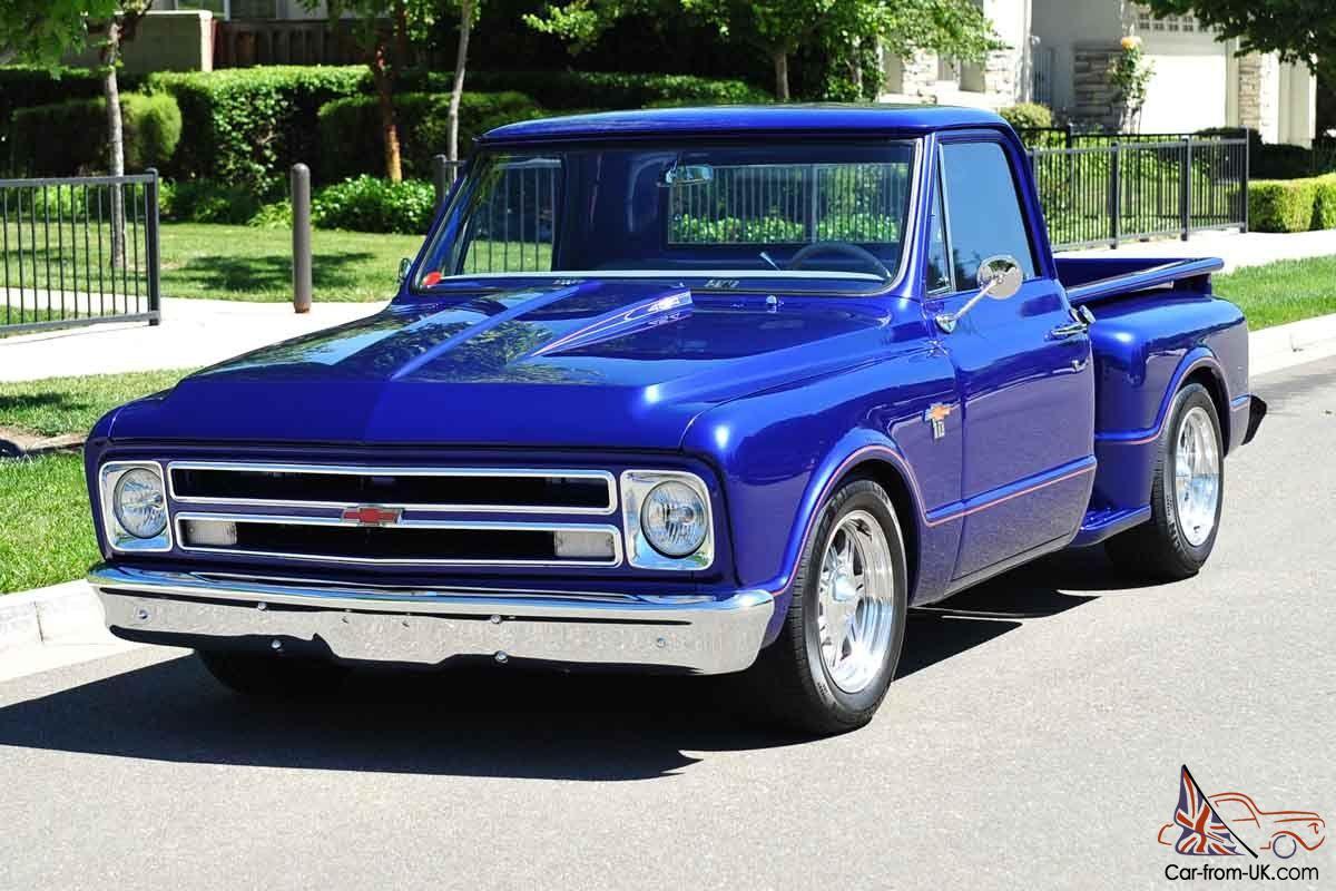 Custom 1967 Chevy C10 Stepside Pickup Truck 454/400 12 Bolt Posi PS PDB Tilt