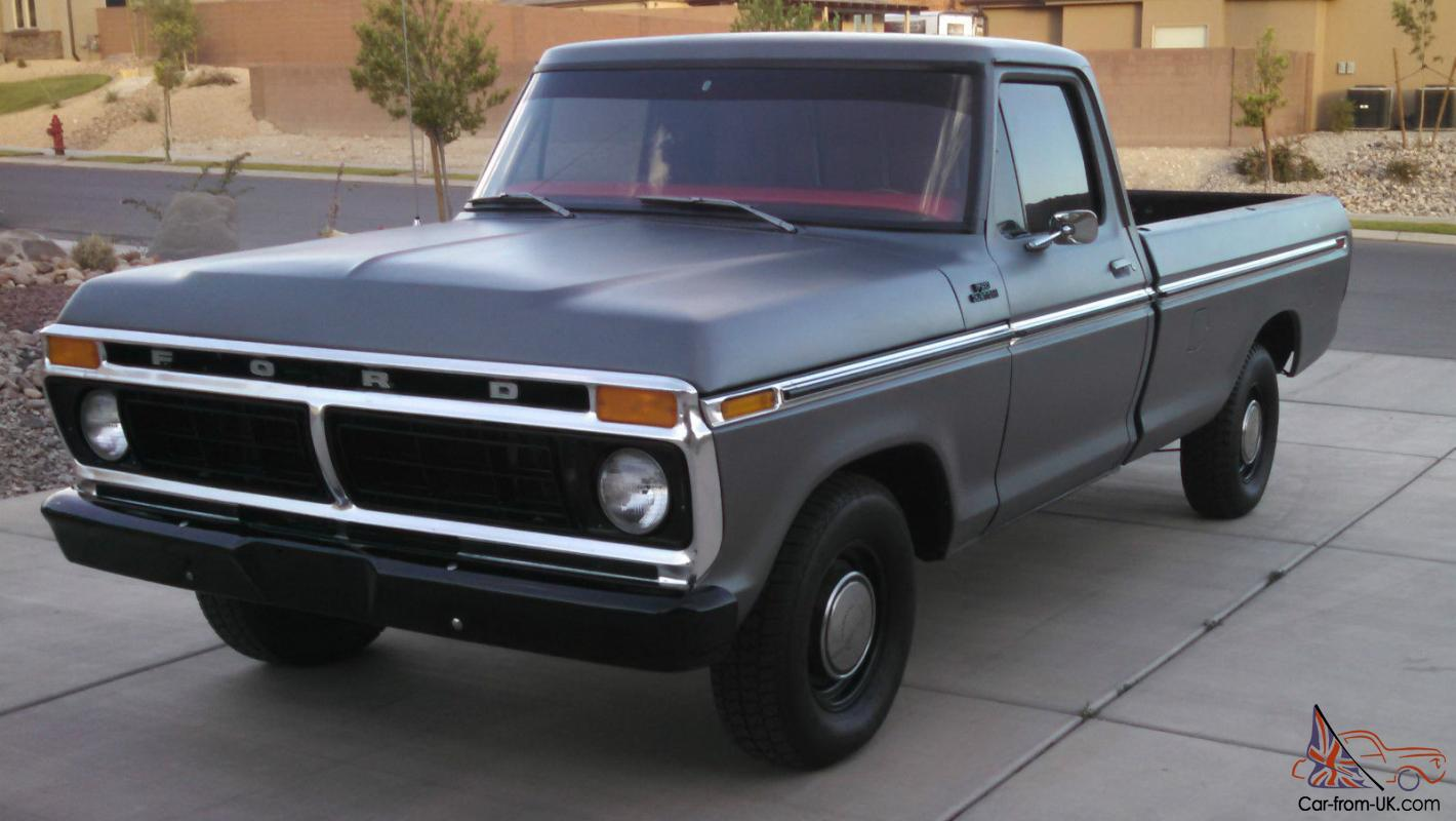 1977 Ford F150 Standard Cab Long Bed 2WD Custom 400M Auto ...