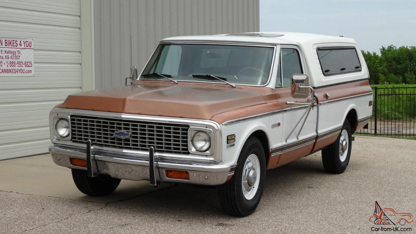 1972 Chevy Chevrolet Cheyenne C20 Not Gmc