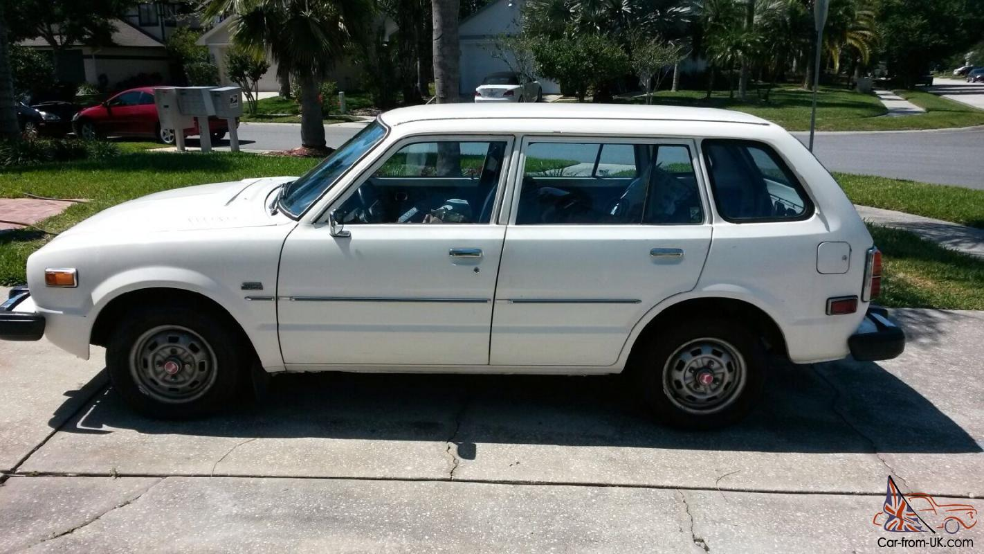 1978 Honda Civic Cvcc 1 5l 4 Speed Manual Wagon
