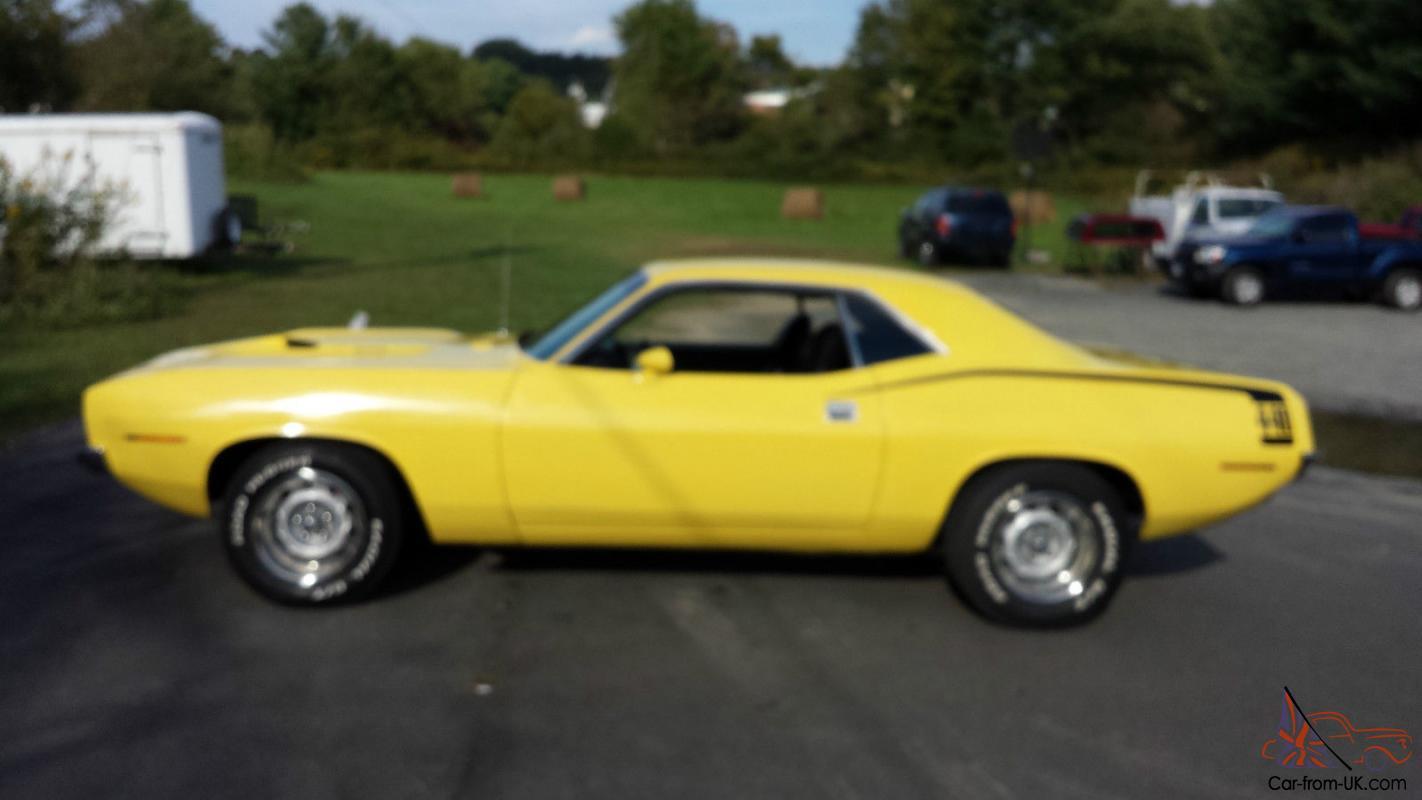 1970 Plymouth Barracuda 440 VERY SOLID CAR