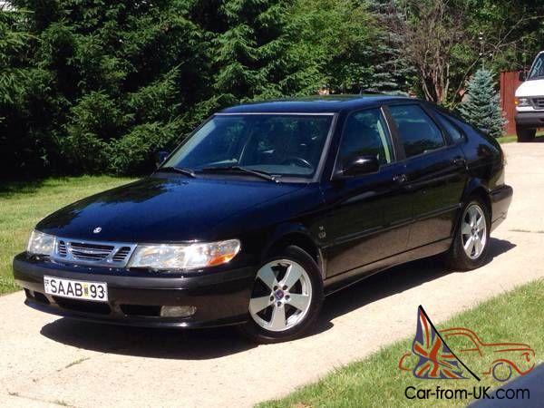 2002 Saab 9 3 Se Hatchback Automatic Leather Sunroof Cd