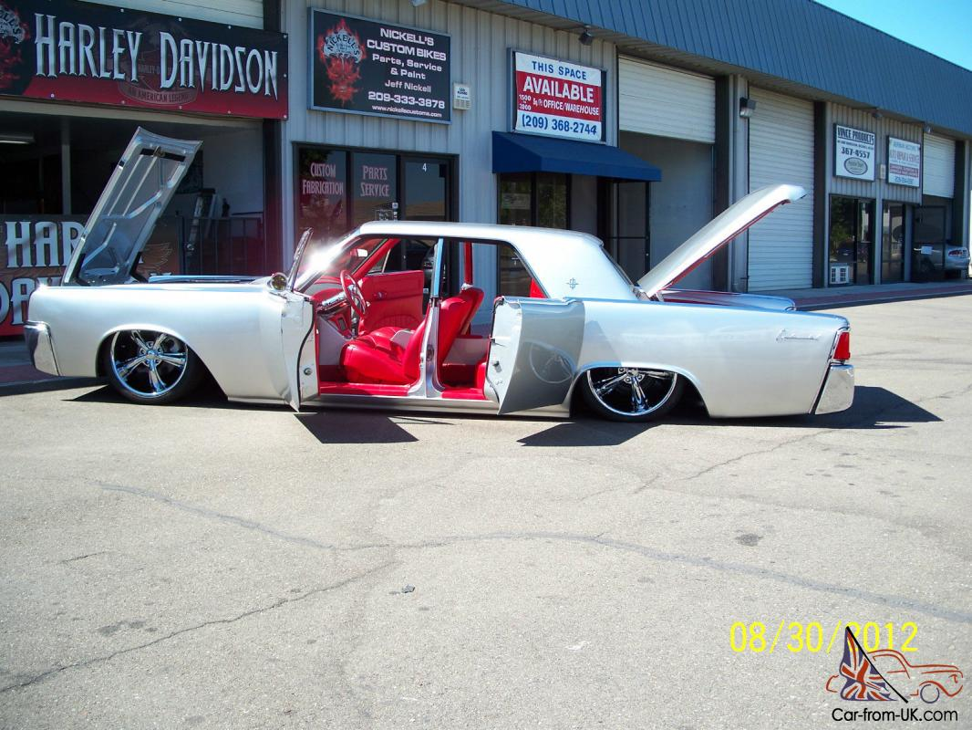 1963 lincoln continental- absolutely beautiful custom