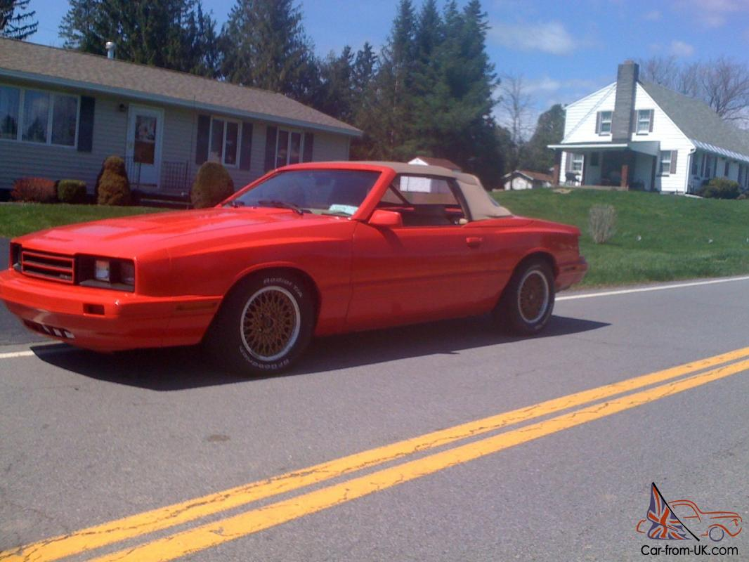 Mercury Capri Asc Mclaren Ford Mustang Convertible
