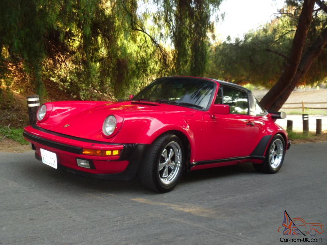Porsche 930 Turbo Look Targa Carrera